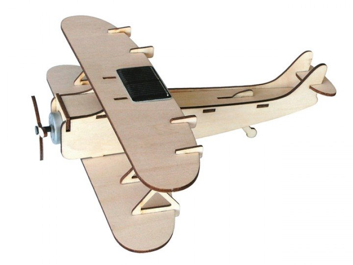 Solar Powered Biplane Kit