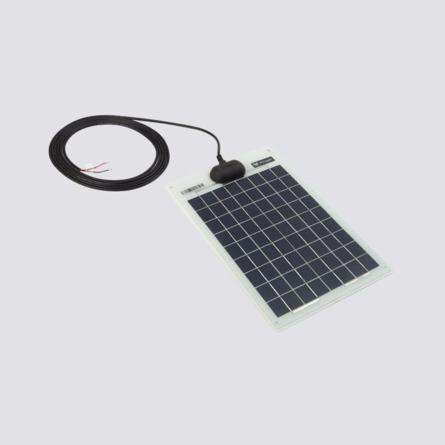 Semi flexible solar panels