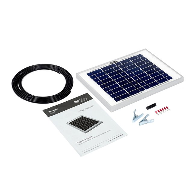 10w Rigid Solar Panel Kit