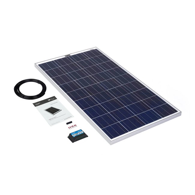 120w Rigid Solar Panel Kit