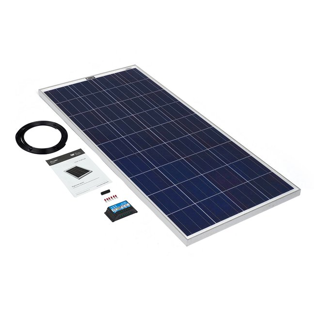 150w Rigid Solar Panel Kit