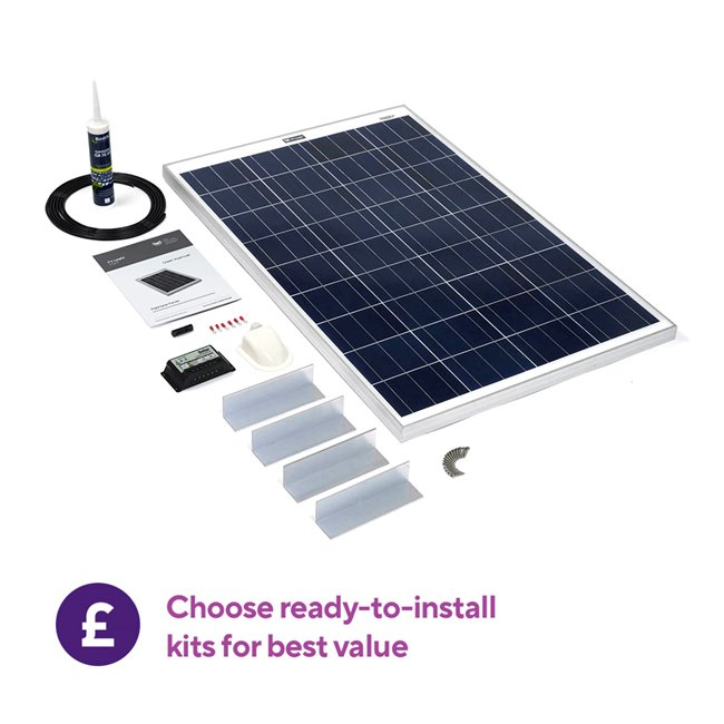 Rigid Solar Panel Roof Top Kit1