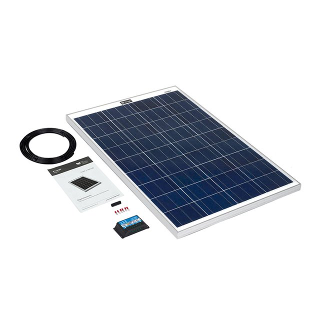 100w Rigid Solar Panel Kit