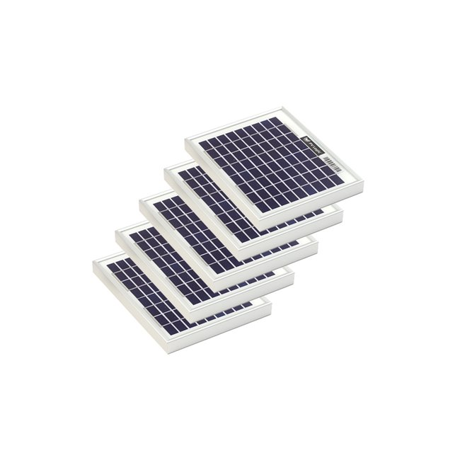 Bulk pack - 5w Rigid Solar Panel