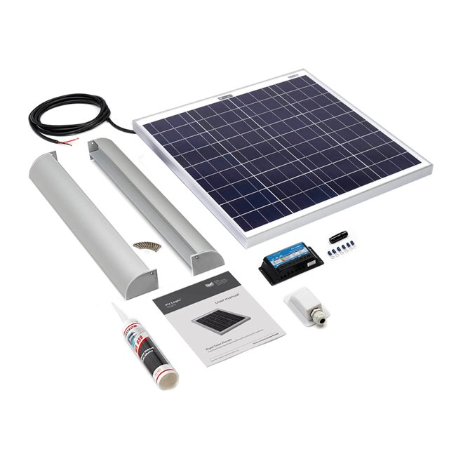 60w Rigid Solar Panel Roof and Deck Top Kit