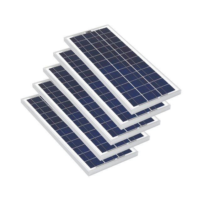 Bulk pack - 20w Rigid Solar Panel