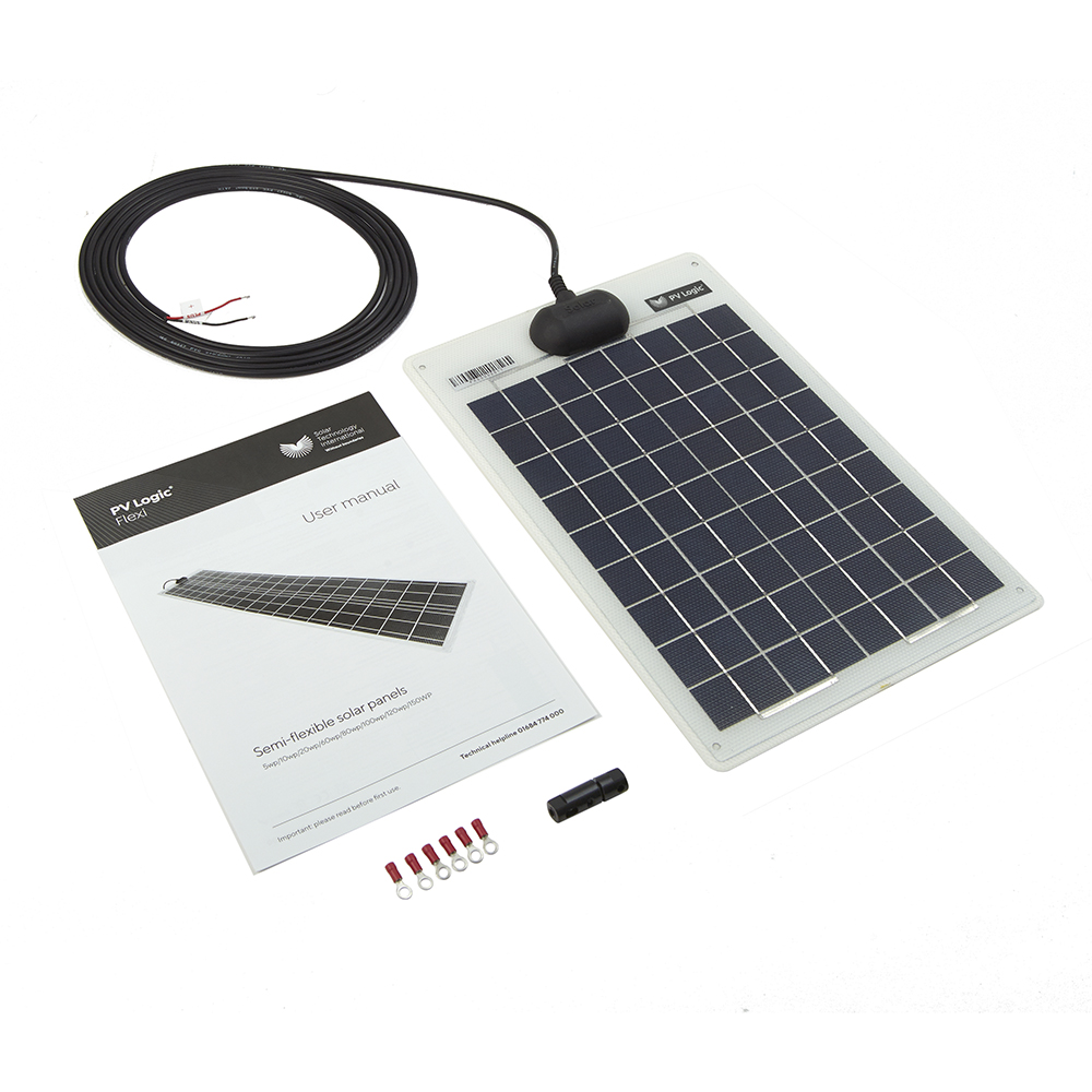 10w Flexi Solar Panel Kit Solar Technology International