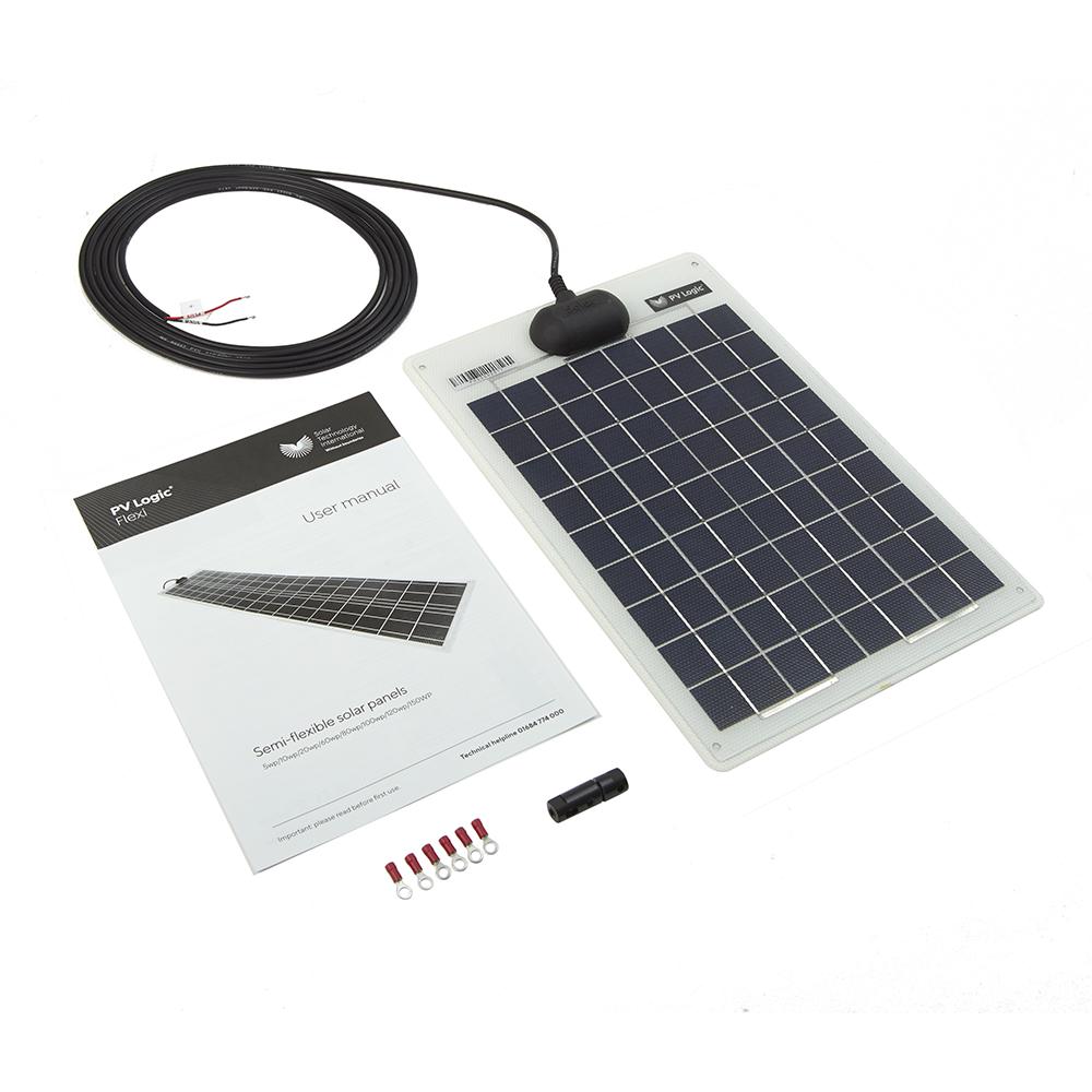 10w Flexi Solar Panel Kit Solar Technology International