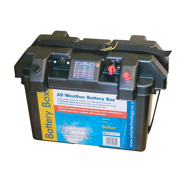 Delux All Weather Battery Box