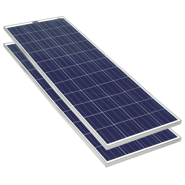 Bulk pack - 200w Rigid Solar Panel
