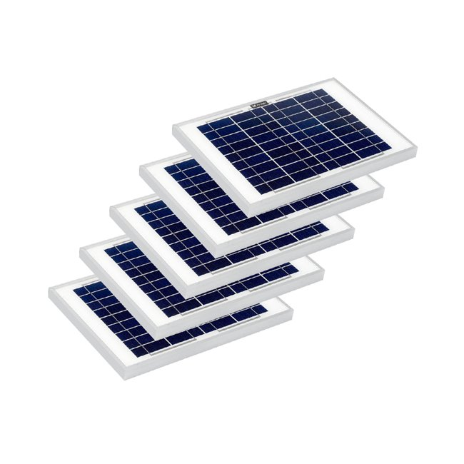 Bulk pack - 10w Rigid Solar Panel