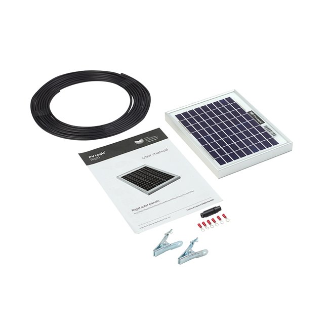 5w Rigid Solar Panel Kit