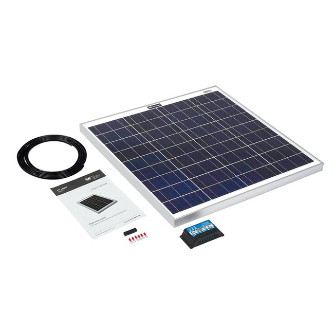 60w Rigid Solar Panel Kit