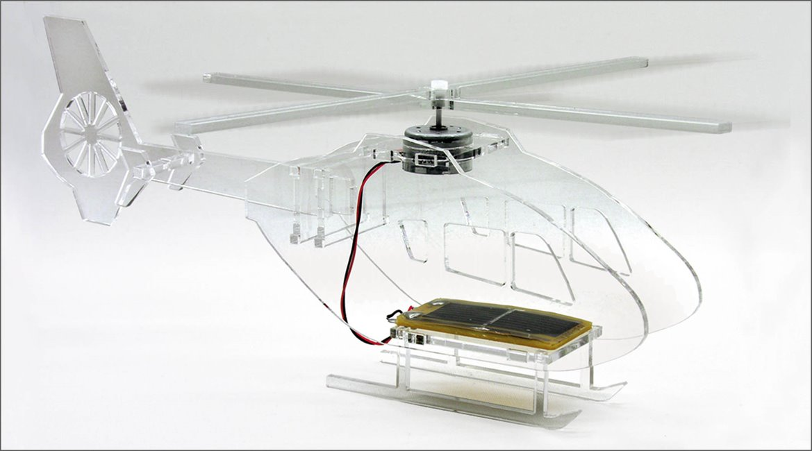 Solar Powered Helicopter