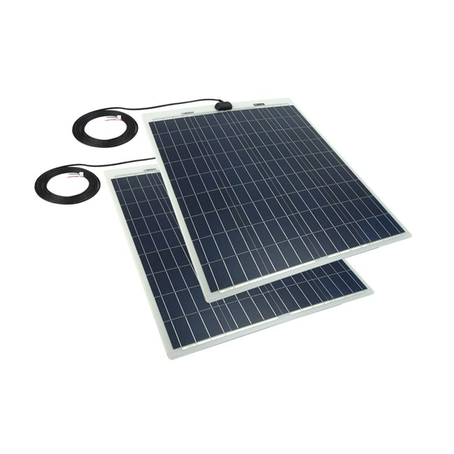 Bulk pack - 80w Semi-Flexible Solar Panel